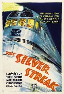 The Silver Streak movie poster (1934) poster MOV_0139dad5