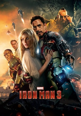 Iron Man 3 movie poster (2013) poster MOV_0155299b