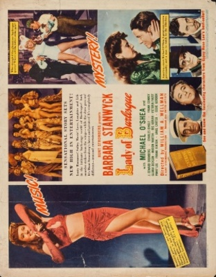 Lady of Burlesque movie poster (1943) poster MOV_01a663b4