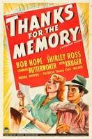 Thanks for the Memory movie poster (1938) picture MOV_01b6837f
