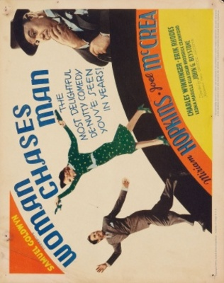 Woman Chases Man movie poster (1937) poster MOV_01bc175b