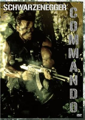 Commando movie poster (1985) poster MOV_01bd290e