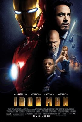 Iron Man movie poster (2008) poster MOV_01cbf375
