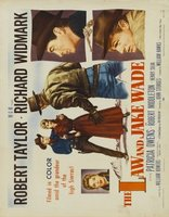 The Law and Jake Wade movie poster (1958) picture MOV_01cc8ece