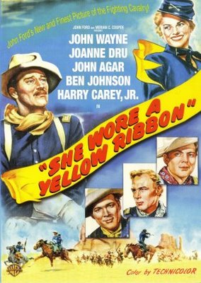 She Wore a Yellow Ribbon movie poster (1949) poster MOV_01d652be