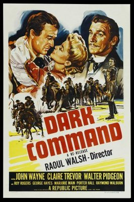 Dark Command movie poster (1940) poster MOV_01df9309