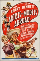 Artists and Models Abroad movie poster (1938) picture MOV_01e25ccd