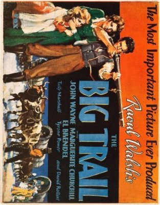 The Big Trail movie poster (1930) poster MOV_01ebc90c