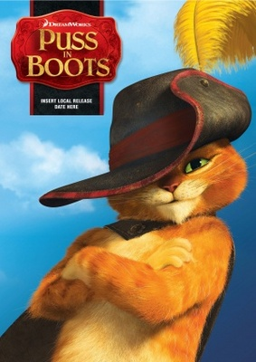 Puss in Boots movie poster (2011) poster MOV_01efe608