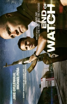 End of Watch movie poster (2012) poster MOV_01fa83d9