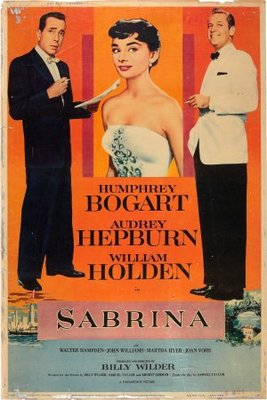 Sabrina movie poster (1954) poster MOV_0202c439