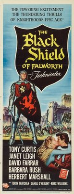 The Black Shield of Falworth movie poster (1954) poster MOV_022acaf8