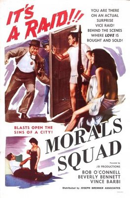 Morals Squad movie poster (1960) poster MOV_0245e9cb