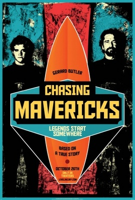 Chasing Mavericks movie poster (2012) poster MOV_0250adb2