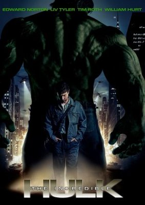 The Incredible Hulk movie poster (2008) poster MOV_0272fb29