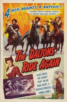 The Daltons Ride Again movie poster (1945) poster MOV_028f2ff2