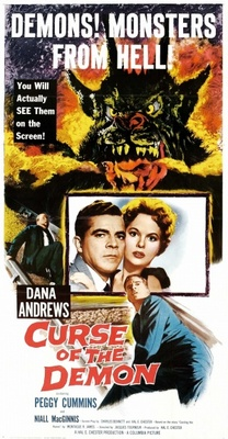Night of the Demon movie poster (1957) poster MOV_02912fd3