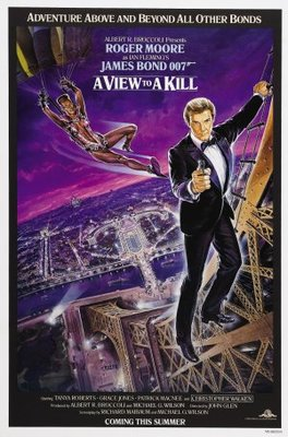 A View To A Kill movie poster (1985) poster MOV_02a10b7e