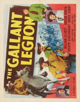 The Gallant Legion movie poster (1948) poster MOV_02a99409