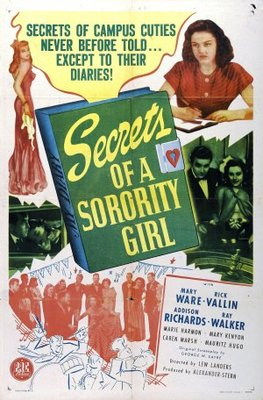 Secrets of a Sorority Girl movie poster (1945) poster MOV_02ac5bd1