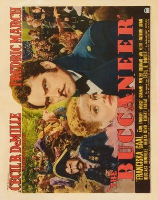 The Buccaneer movie poster (1938) poster MOV_02dbcfba