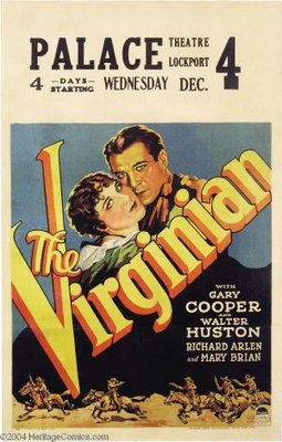 The Virginian movie poster (1929) poster MOV_02e8bed4