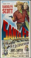 Santa Fe movie poster (1951) picture MOV_02eba77f