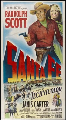 Santa Fe movie poster (1951) poster MOV_02eba77f