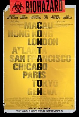 Contagion movie poster (2011) poster MOV_0306c104