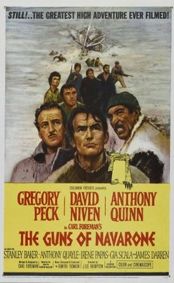 The Guns of Navarone movie poster (1961) poster MOV_0309cce2