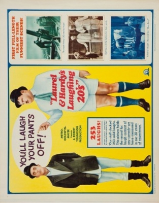 Laurel and Hardy's Laughing 20's movie poster (1965) poster MOV_031315d4
