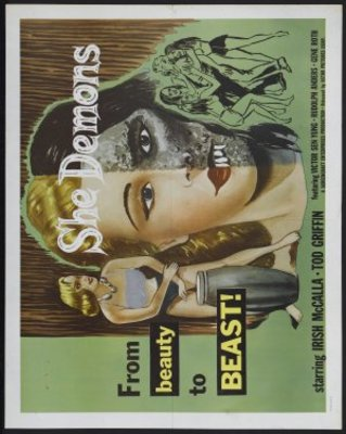She Demons movie poster (1958) poster MOV_0314318f