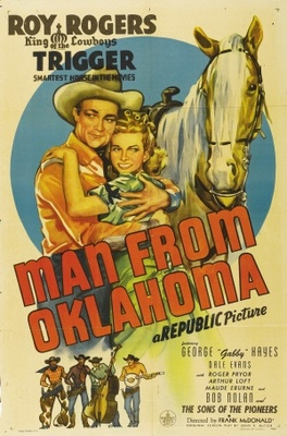 Man from Oklahoma movie poster (1945) poster MOV_0322cb81