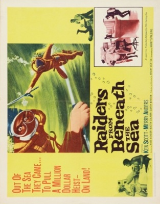 Raiders from Beneath the Sea movie poster (1964) poster MOV_03268631