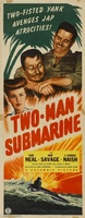 Two-Man Submarine movie poster (1944) picture MOV_03324aa3