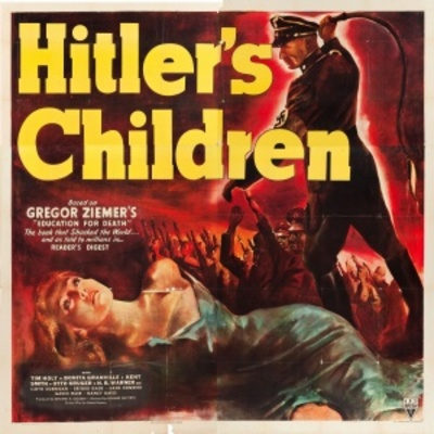 Hitler's Children movie poster (1943) poster MOV_03594192