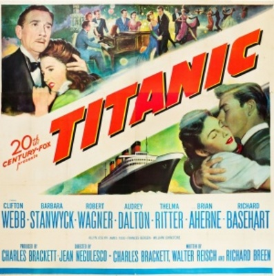 Titanic movie poster (1953) poster MOV_036f2901