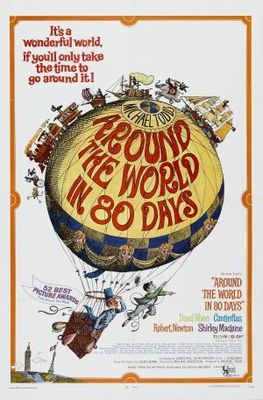 Around the World in Eighty Days movie poster (1956) poster MOV_0372e292