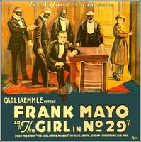 The Girl in Number 29 movie poster (1920) picture MOV_03828be1