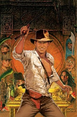 Raiders of the Lost Ark movie poster (1981) poster MOV_0382b92a