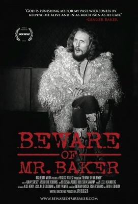 Beware of Mr. Baker movie poster (2012) poster MOV_03c147cf
