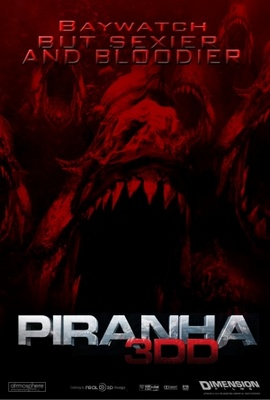 Piranha 3DD movie poster (2011) poster MOV_03c225c7