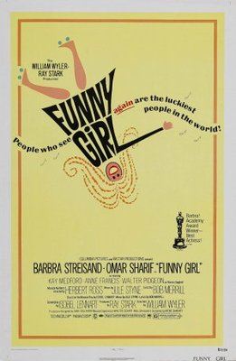 Funny Girl movie poster (1968) poster MOV_03e75eb6