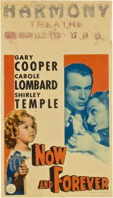 Now and Forever movie poster (1934) poster MOV_03f10a5f