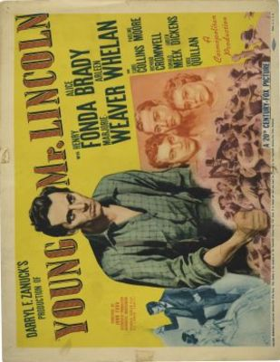 Young Mr. Lincoln movie poster (1939) poster MOV_03ff0d61