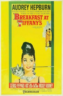 Breakfast at Tiffany's movie poster (1961) poster MOV_04027ec2