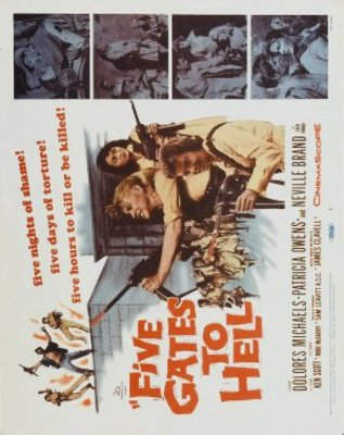 Five Gates to Hell movie poster (1959) poster MOV_0427a948