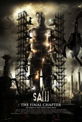 Saw 3D movie poster (2010) poster MOV_042f789e