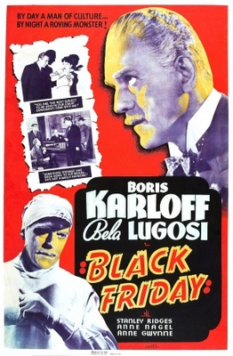 Black Friday movie poster (1940) poster MOV_0445bcae