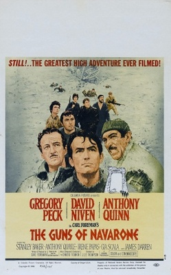The Guns of Navarone movie poster (1961) poster MOV_047a7392